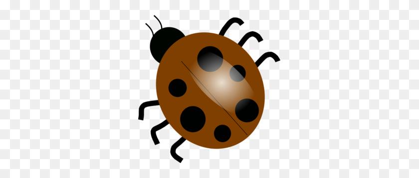 Brown Ladybugs Clip Art - Free Ladybug Clipart