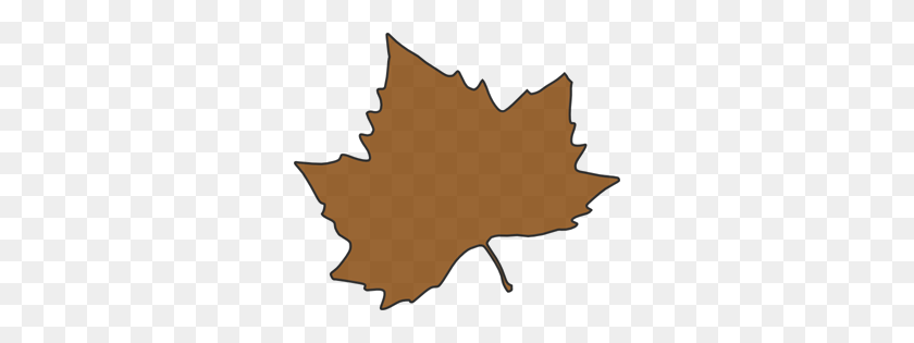 Brown Maple Leaf Png, Clip Art For Web - Maple Tree PNG