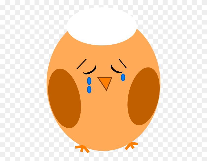 Brown Orange Sad Final Clip Art - Sad Clipart