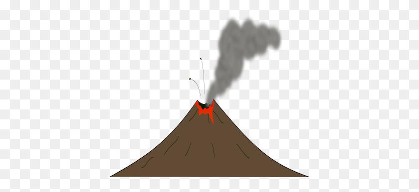 Brown Volcano Clip Art - Geologist Clipart