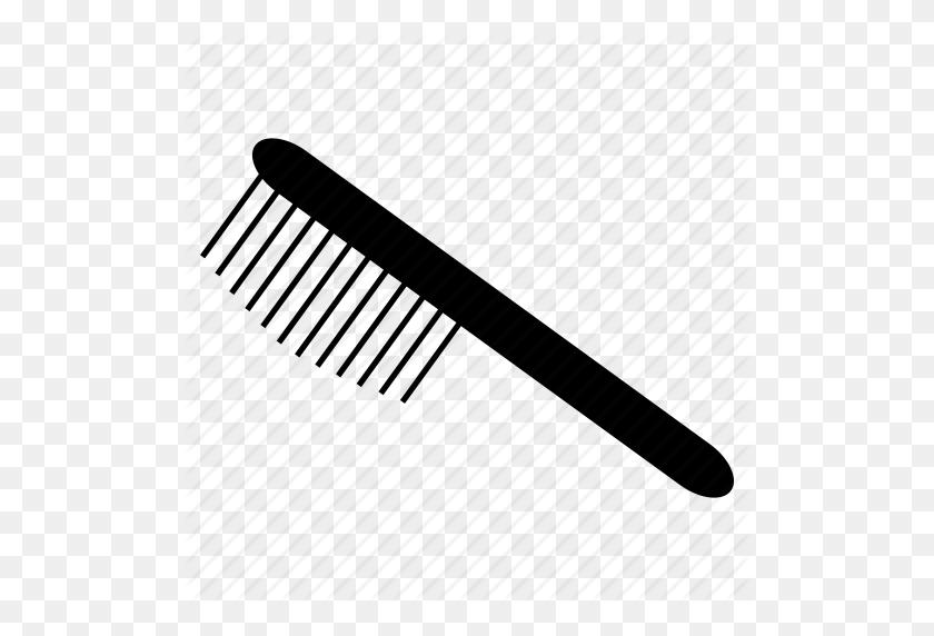 Brush, Comp, Hair, Hair Care, Hairbrush Icon - Hair Brush PNG