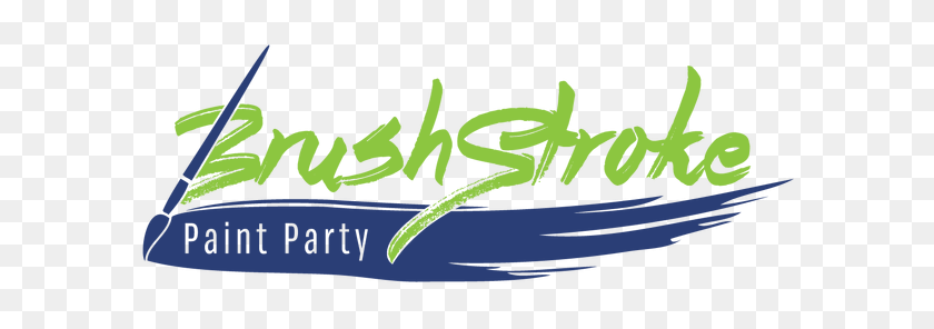 Brushstroke Paint Party - Paint Brush Stroke PNG