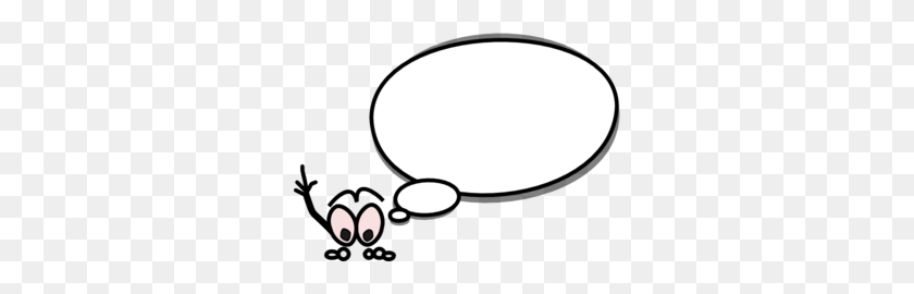 Bubble Clipart Speach - Speaking Clipart Black And White