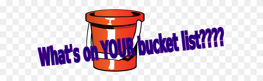 Transparent Background Bucket List Png