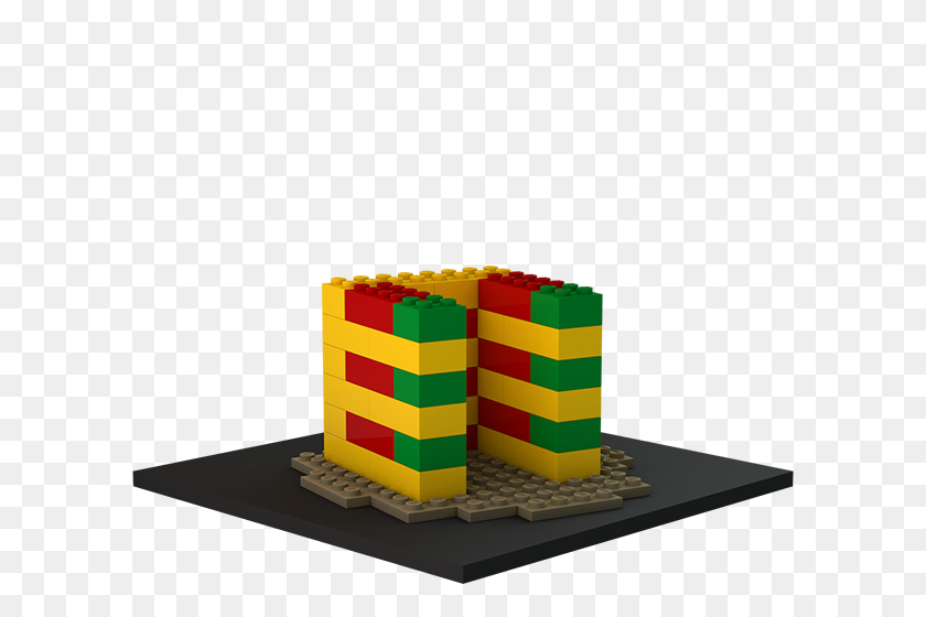 Build With Chrome - Lego Block PNG