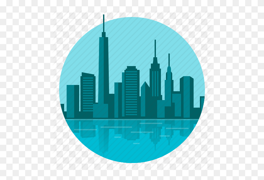 Building, City, Skyline, Town Icon - City Building PNG