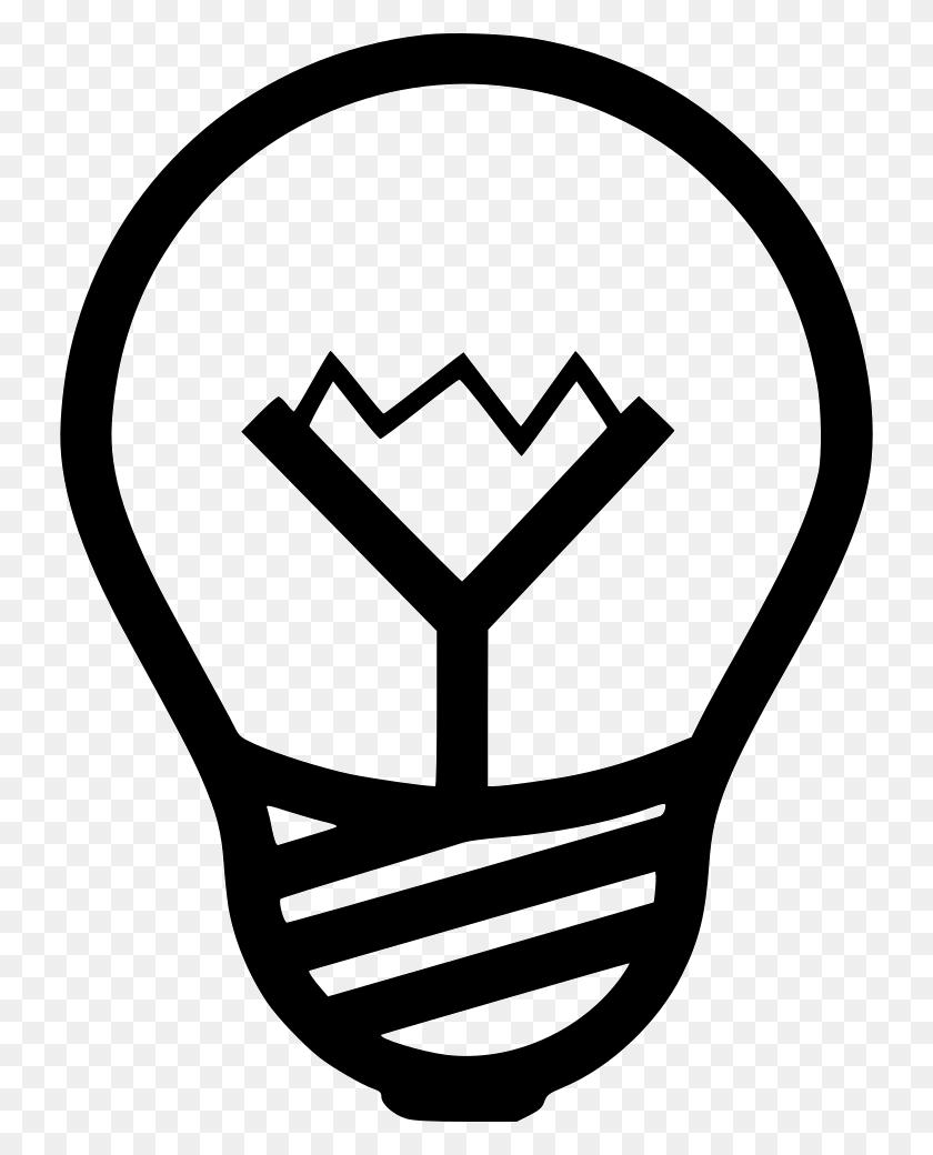 Bulb Light Lightbulb Idea Png Icon Free Download - Lightbulb Icon PNG