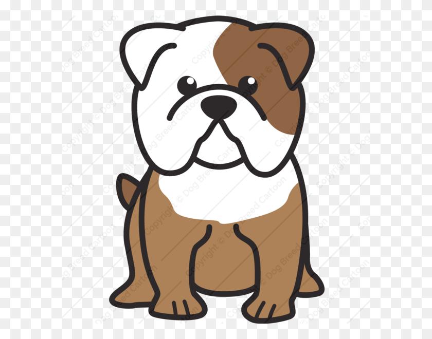 Bulldog Cartoon Free Download Clip Art - English Bulldog Clipart