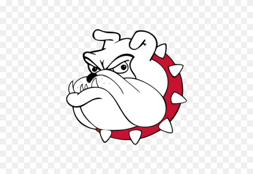 Bulldog Clip Art Free Vector Graphics Bulldog Logo Vector - School Mascot Clipart