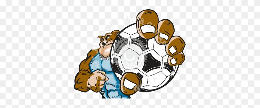 Bulldog Clipart Soccer - Team Player Clipart