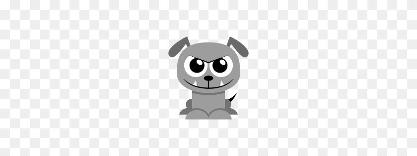 Bulldog Icon Flat Animal Iconset Martin Berube - Bulldog PNG