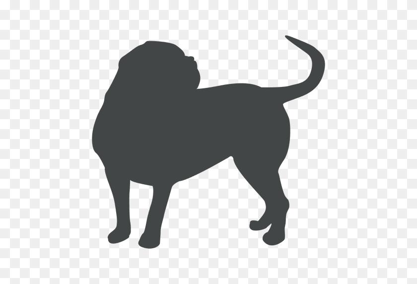 Bulldog Silhouette - Bulldog PNG