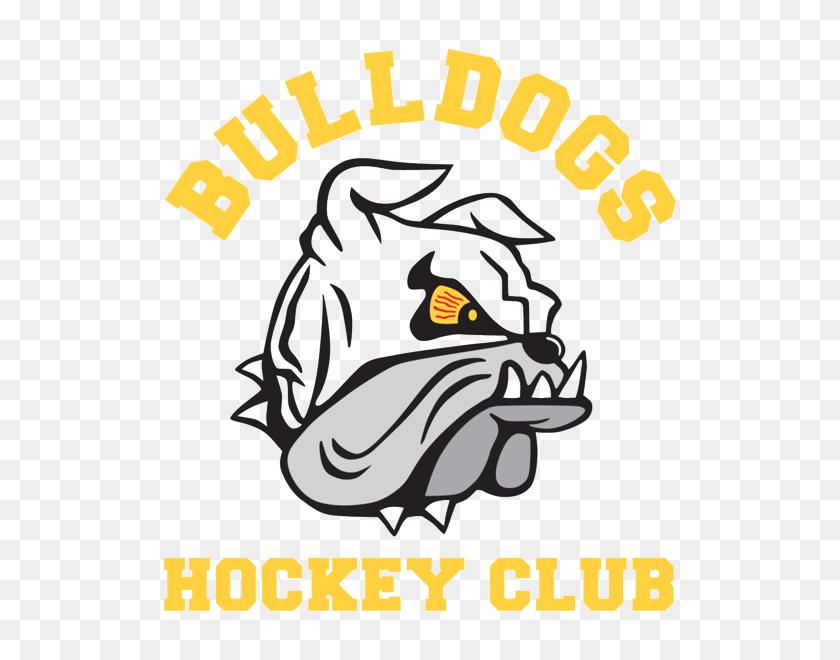 Bulldogs Hockey Club - Ice Skating Rink Clipart
