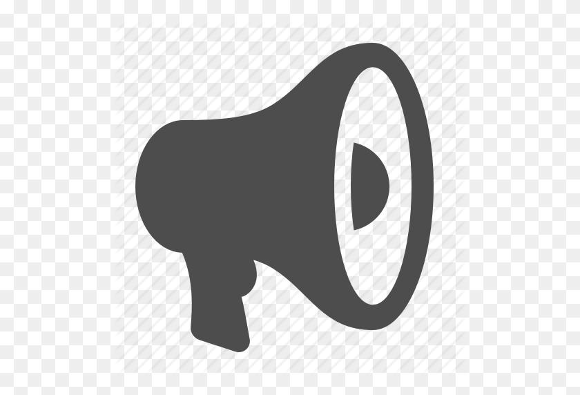 512x512 Bullhorn, Loudspeaker, Marketing, Megaphone Icon - Megaphone Clipart PNG
