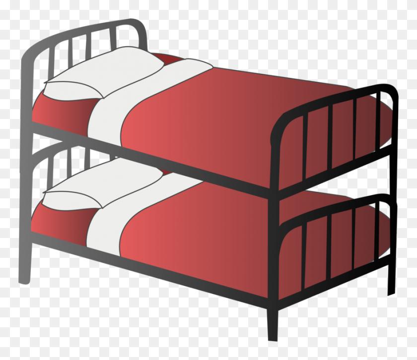 Bunk Bed Bedroom Blanket Closet - Wardrobe Clipart