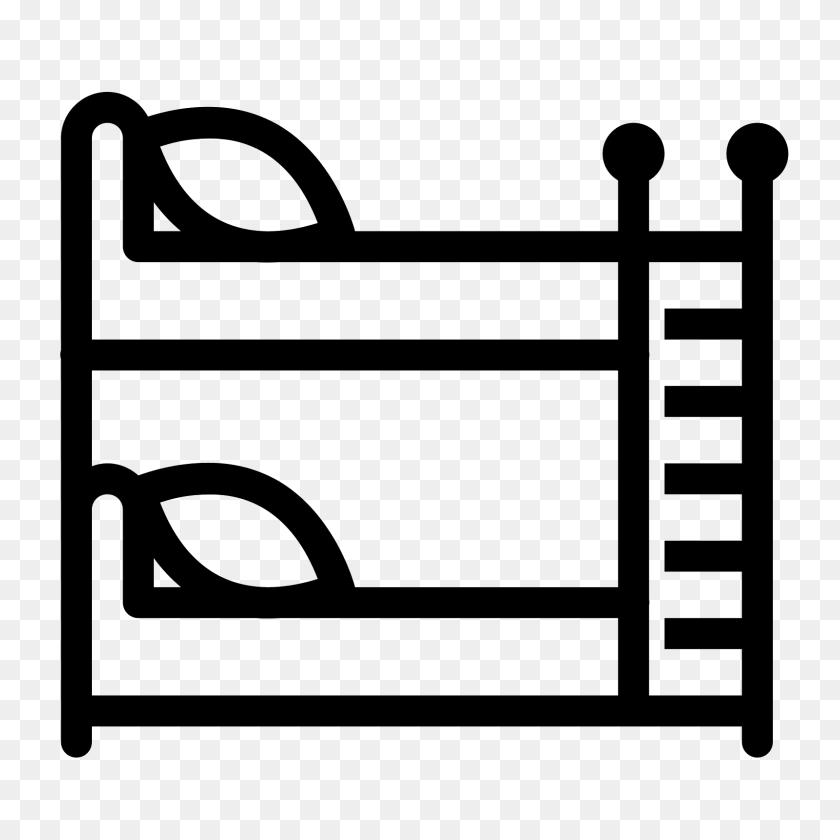 Bunk Bed Icon - Bedroom PNG