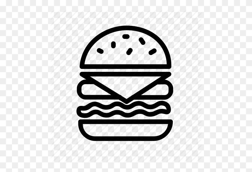 512x512 Burger, Burger King, Fast Food, Food Icon - Burger King PNG