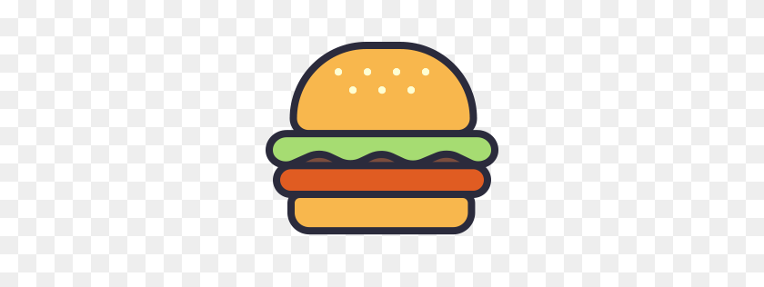 256x256 Burger Clipart, Suggestions For Burger Clipart, Download Burger - Burger King Clipart