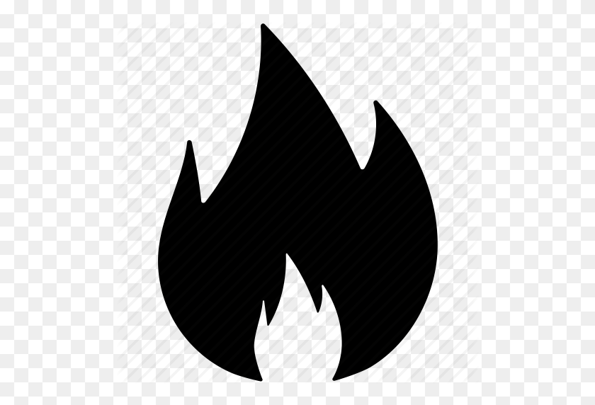Burn Sign, Fire, Fire Flame, Fire Shape Leaf, Hot Icon - Fire Symbol PNG