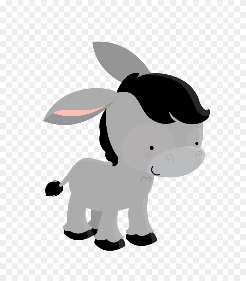 Burro - Donkey Clipart