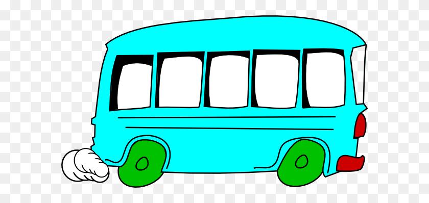 Bus Clipart - Vw Van Clipart
