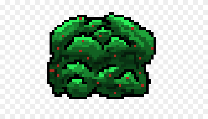 Bush Berries Pixel Art Maker - Berries PNG