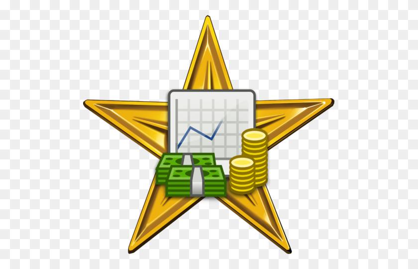 Business And Economics Barnstar Hires - Economics Clipart