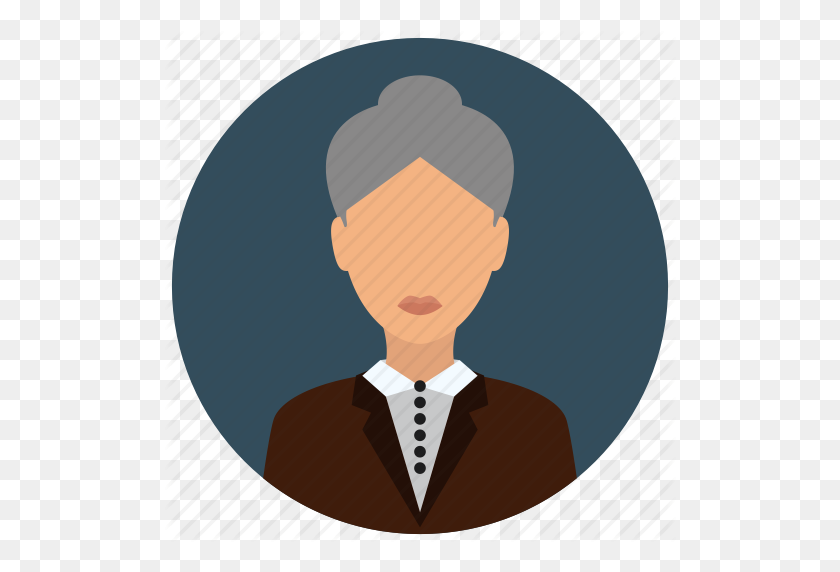 Business, Jacket, Old, People, Senior, Woman Icon - Old People PNG