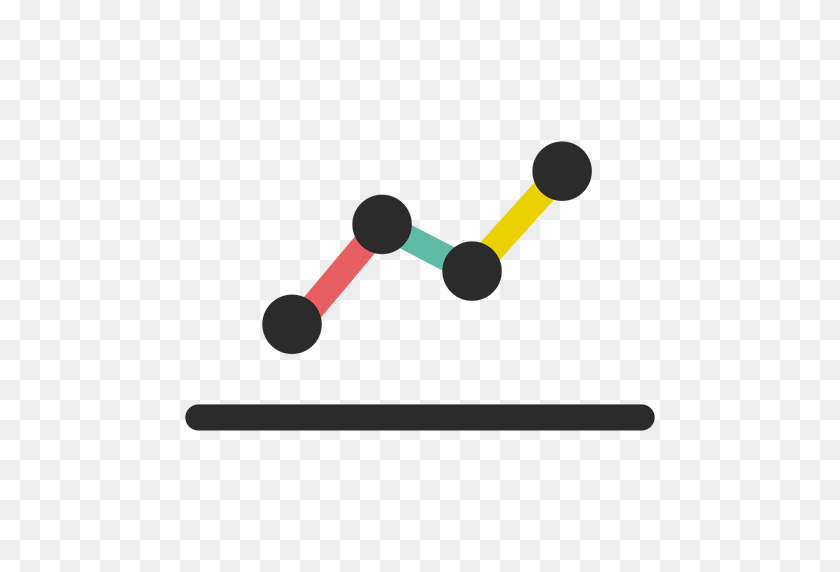 Business Line Graph Icon - Line Graph PNG
