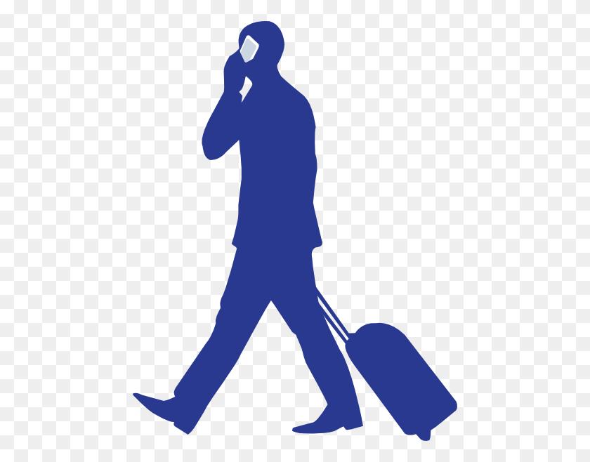 Businessman On Phone Clip Art Free Vector - Maid Clipart