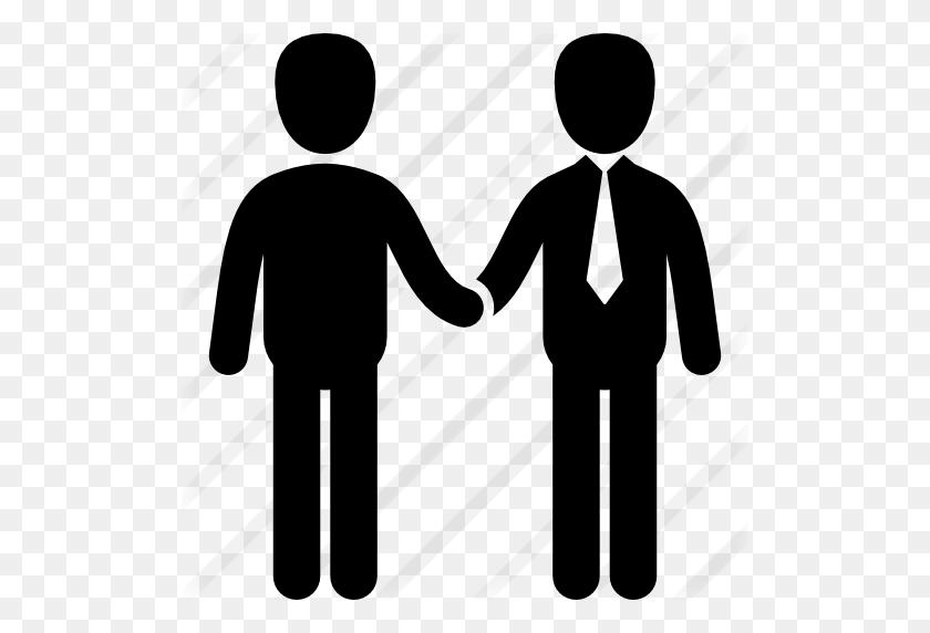Businessmen Shake Hands - Shaking Hands PNG