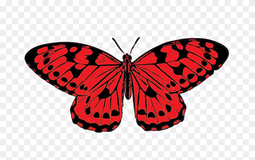 Butterflies Butterfly Clip Art Butterfly Clipart - Red Butterfly Clipart