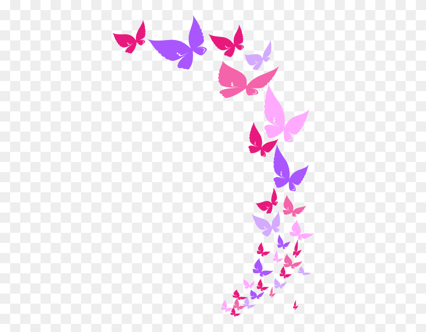 Butterfly Border Clipart Look At Butterfly Border Clip Art - Free Clipart Of Flowers And Butterflies