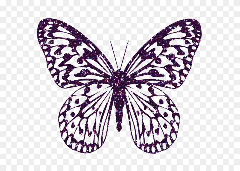 Butterfly Butterfly, Clip - Clipart Flowers And Butterflies