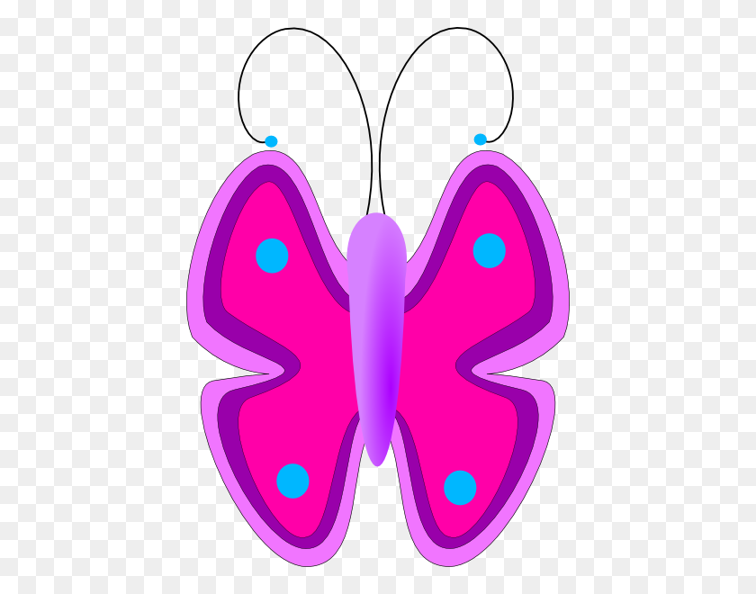 Butterfly Clip Art - Cute Butterfly Clipart