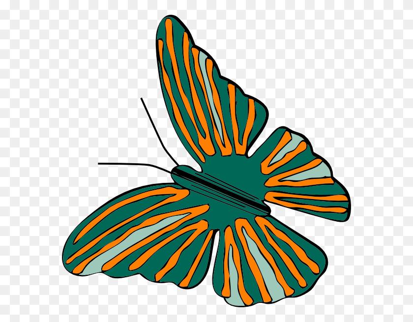 Butterfly Clip Art Free Vector - Monarch Butterfly Clipart