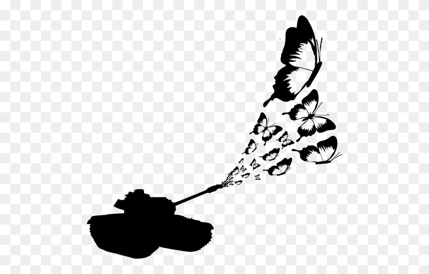 Butterfly Tank Vector Clip Art - Propane Clipart