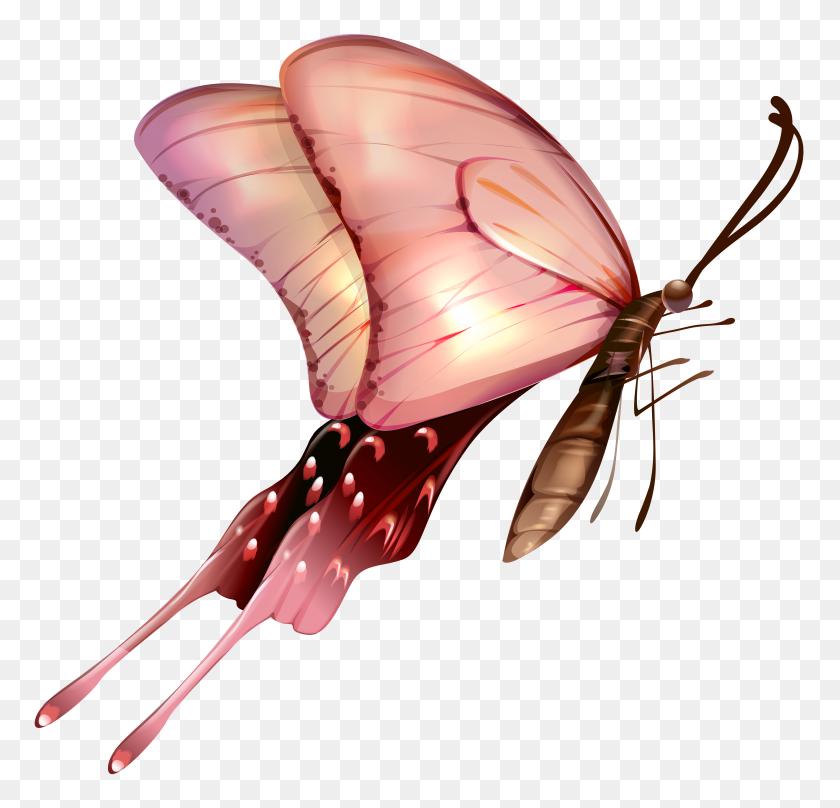Butterfly Transparent Clip Art - Butterfly Clipart Transparent