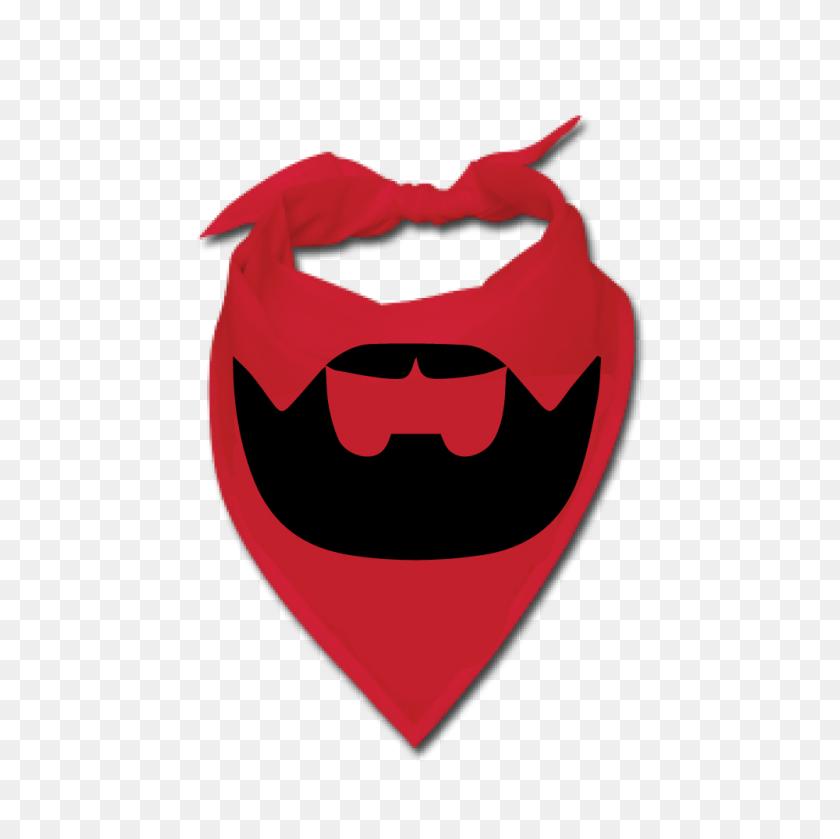 Buy A Red Beardilizer Bandana Beardilizer - Red Bandana PNG