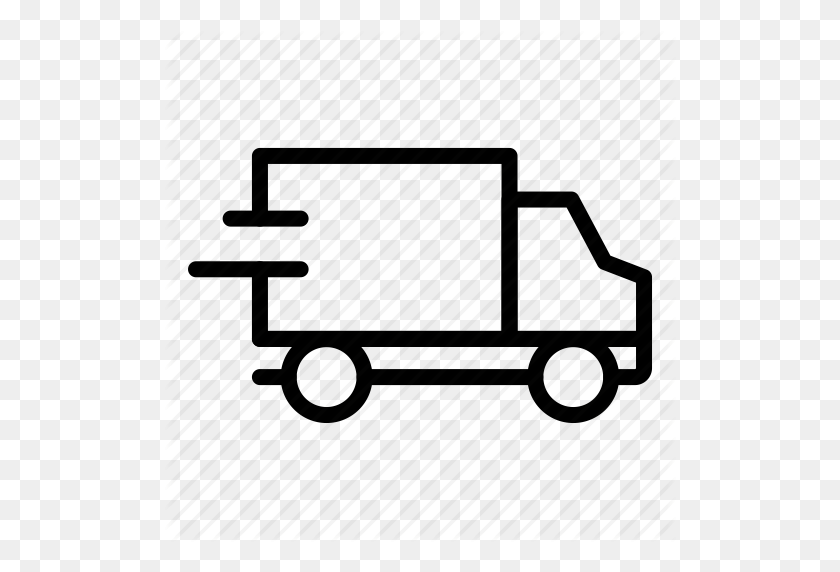 Buy, Ecommerce, Shipping, Speed, Truck Icon - Truck Icon PNG