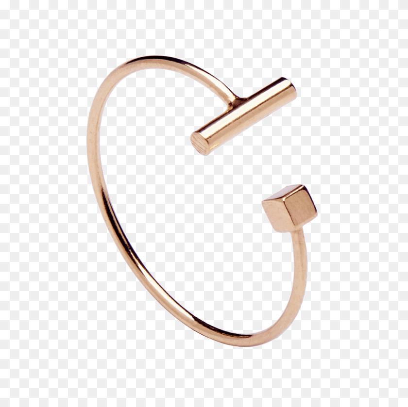 Buy Jim Rose Gold Ring - Rose Gold PNG