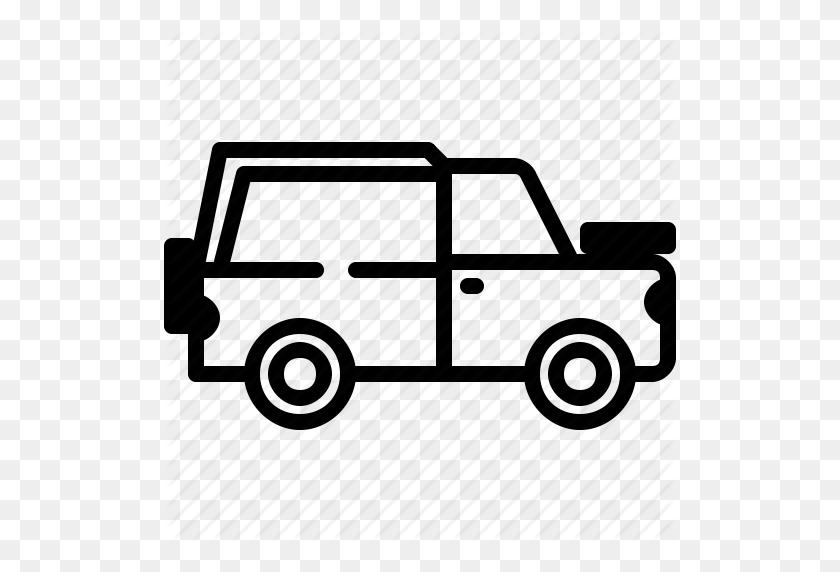 C Camper, Camping, Car, Trailer, Van Icon - Retro Camper Clipart