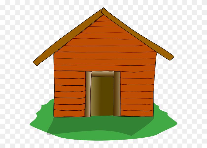 Cabin King Clip Art - Cabin Clipart