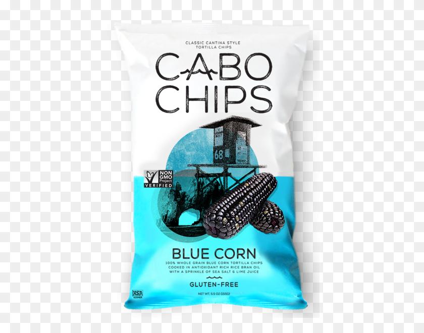 Cabo Chips Blue Corn Tortilla Chips - Tortilla PNG