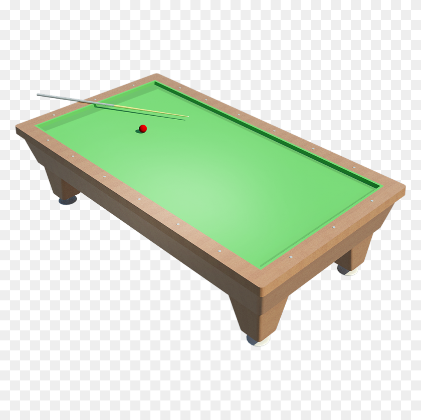 Cad And Bim Object - Pool Table PNG
