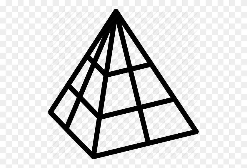 Cad, Drawing, Interface, Modeling, Pyramid, Tool, Wire Icon - Pyramid Clip Art