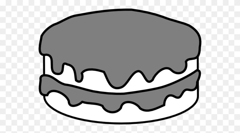 Cake Black And White Birthday Cake Clip Art Black And White - Piece Of Cake Clipart