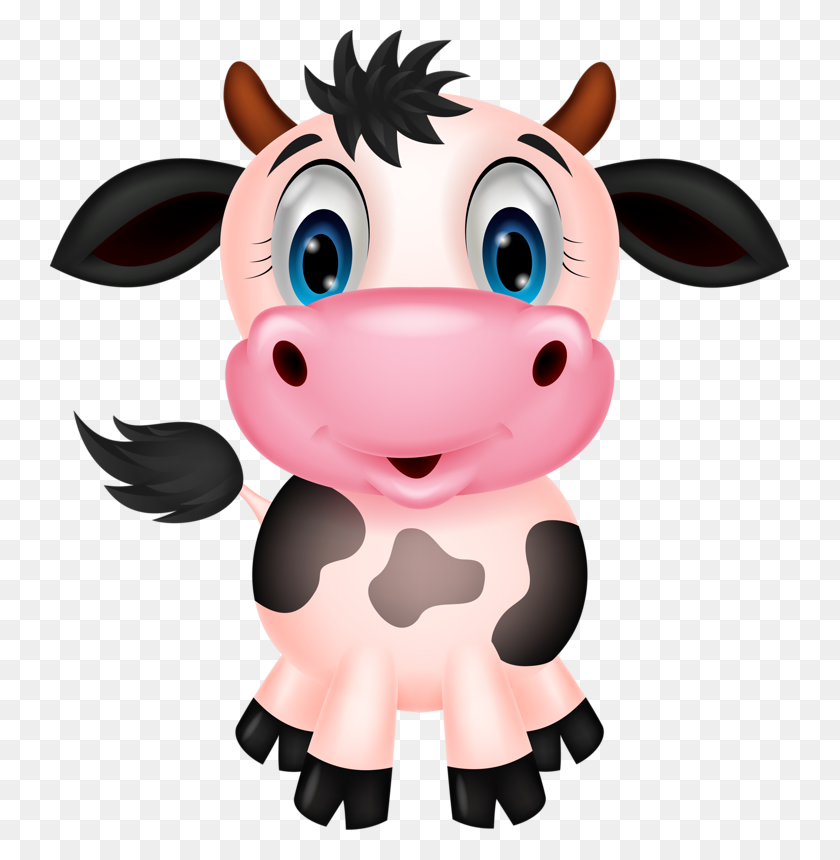 Cake Cow, Cow Illustration And Cute Cows - Baby Cow Clipart