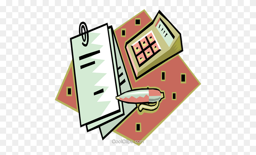 Finance Clipart #1449952 - Illustration by Vector Tradition SM