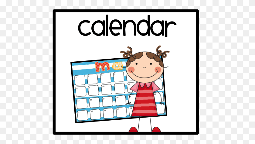 605x414 Calendar Cliparts - Lunch Count Clipart